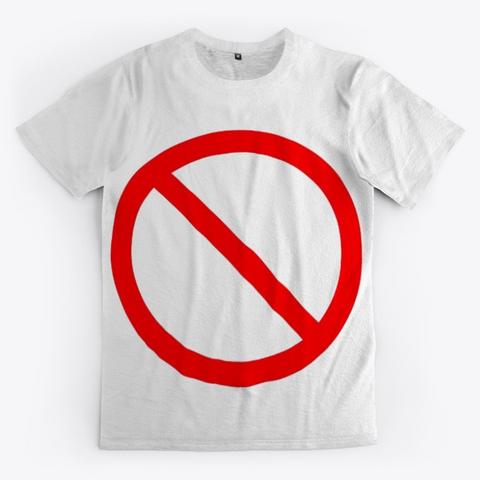 Banning Notices For Men Standard T-Shirt Front