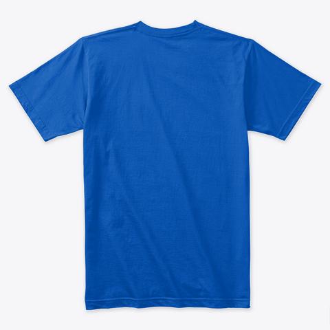 Zombie T Shirt Tee Royal Camiseta Back