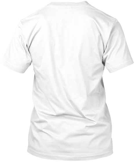 Roaar White T-Shirt Back