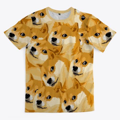 Doge Doge Doge Standard T-Shirt Front