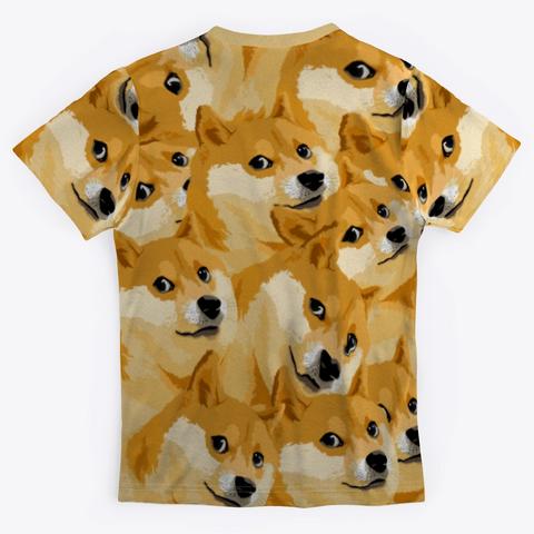 Doge Doge Doge Standard T-Shirt Back